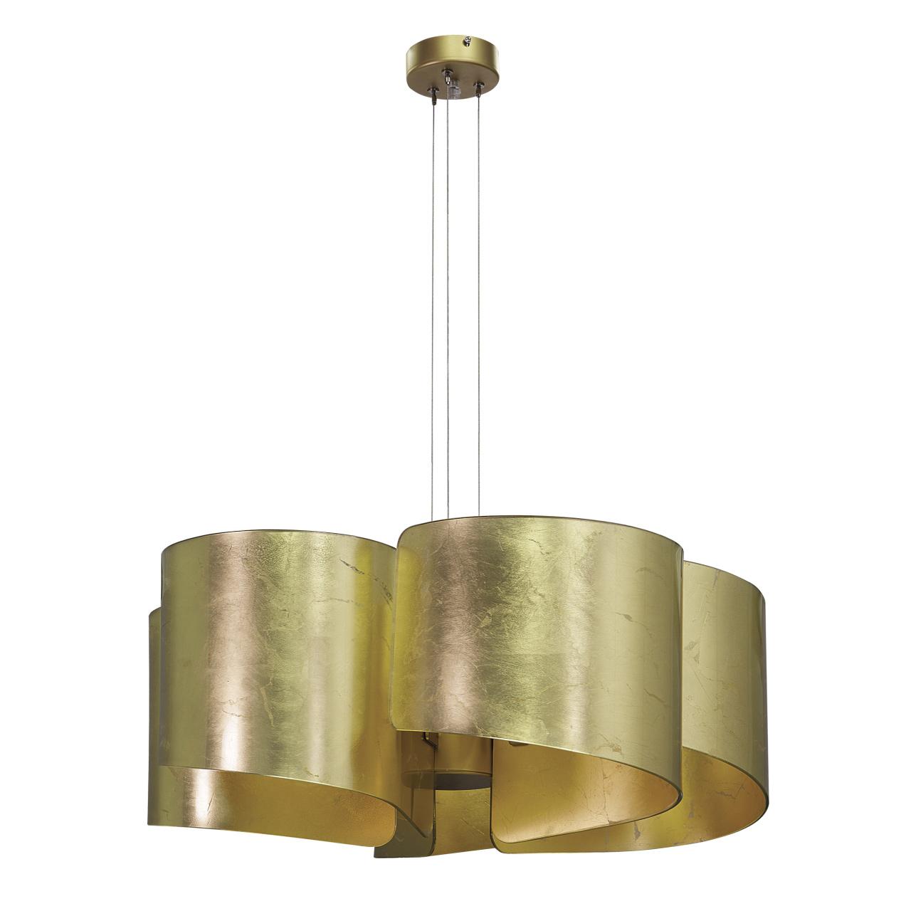 Люстра подвесная Pittore 5х40W E27 golden Lightstar 811152