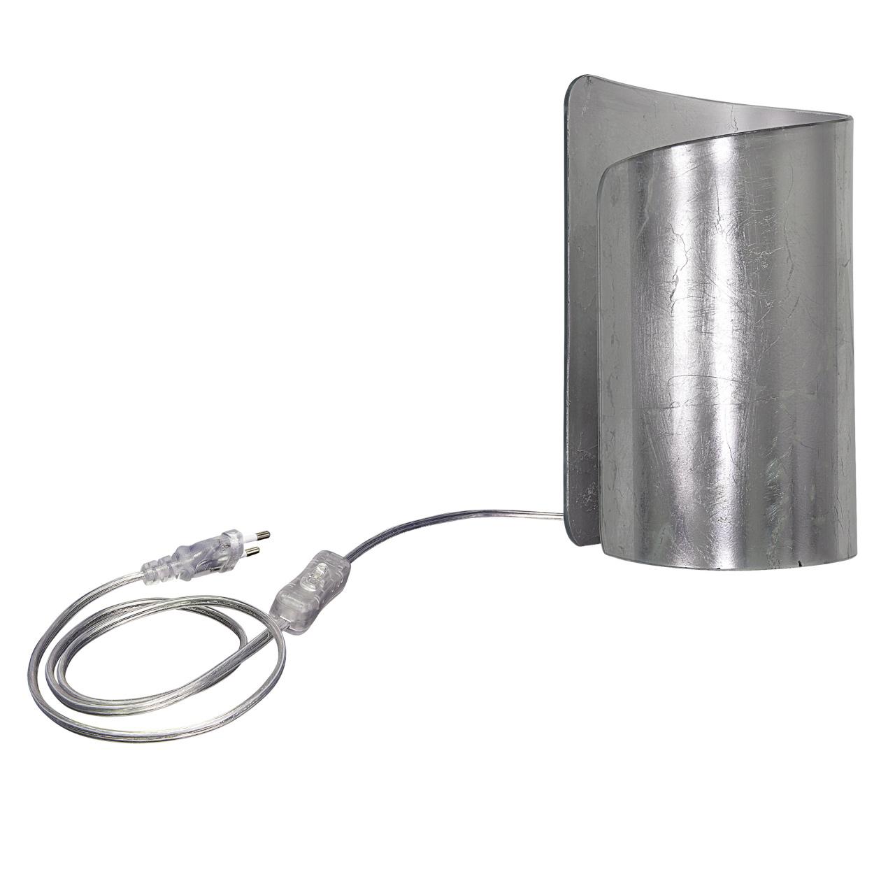 Настольная лампа Pittore 1х40W E27 silver Lightstar 811914