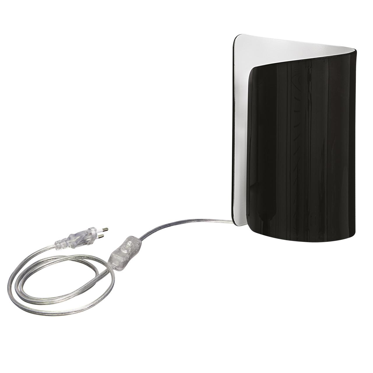 Настольная лампа Pittore 1х40W E27 черный / белый Lightstar 811917
