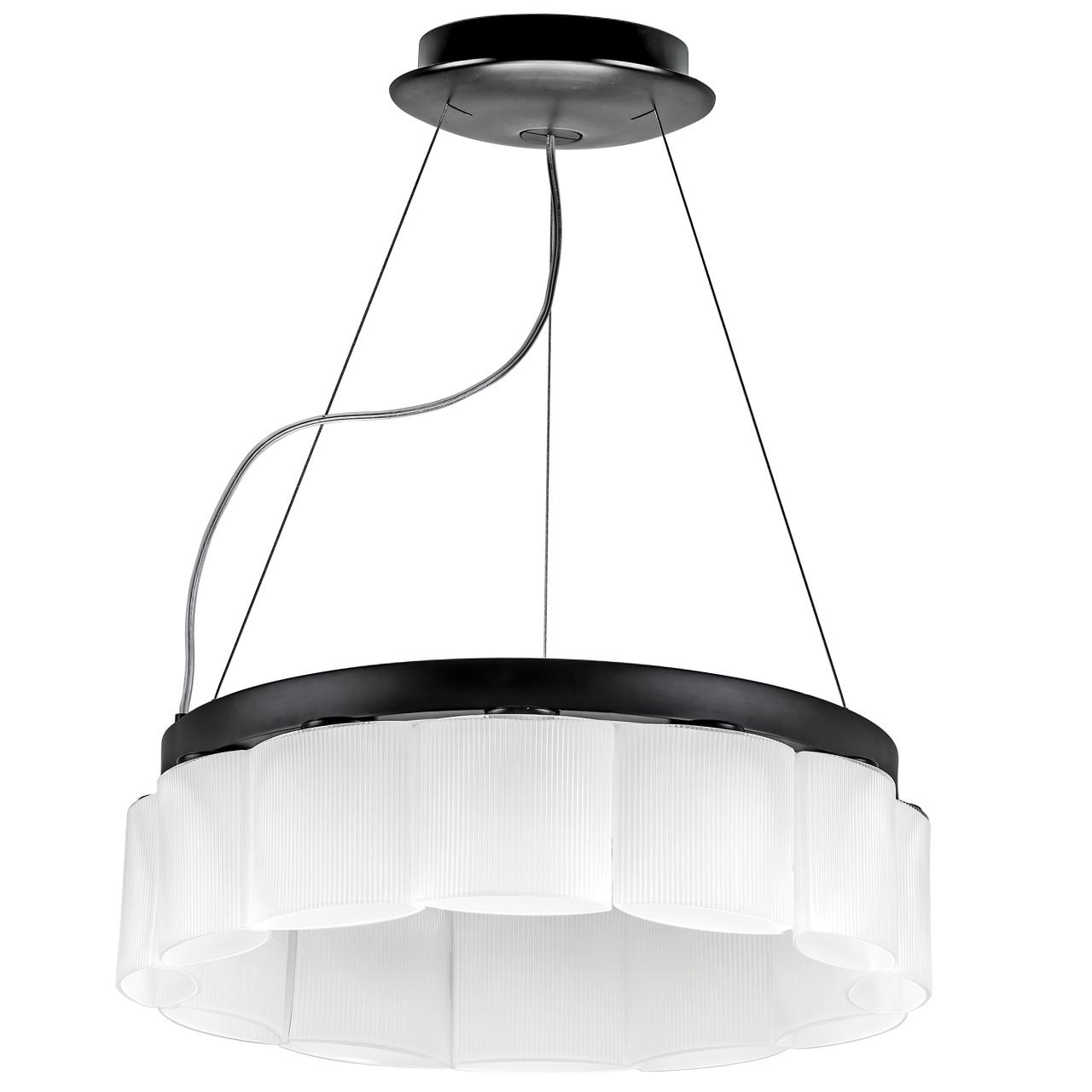 Люстра подвесная Nibbler 12х6W (Led) G9 черный / белый Lightstar 812126