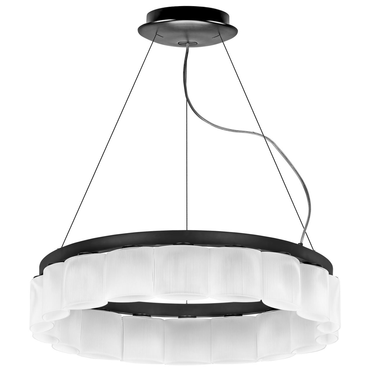 Люстра подвесная Nibbler 18х6W (Led) G9 черный / белый Lightstar 812186