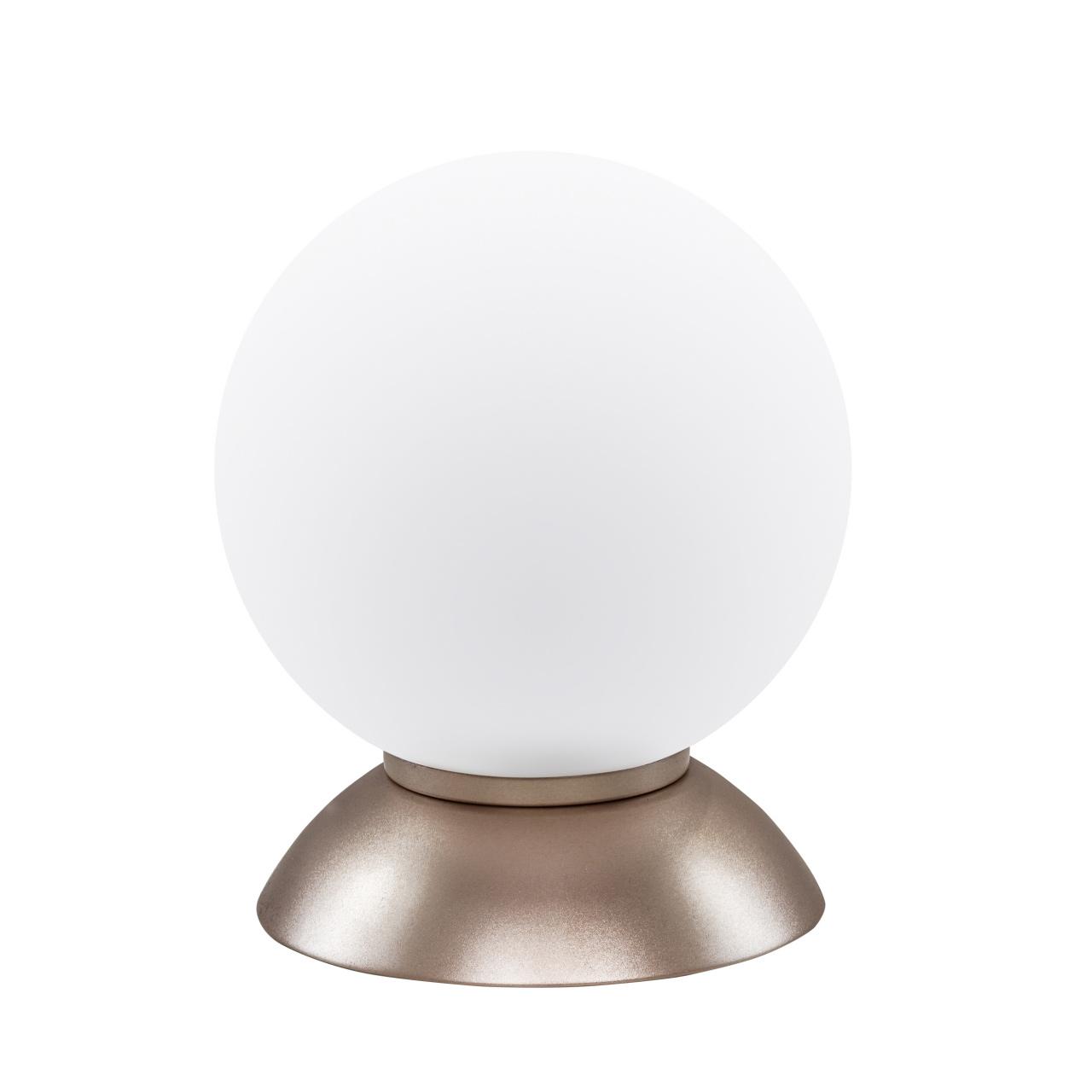 Настольная лампа Globo 1х40W E14 Champaine/white Lightstar 813913