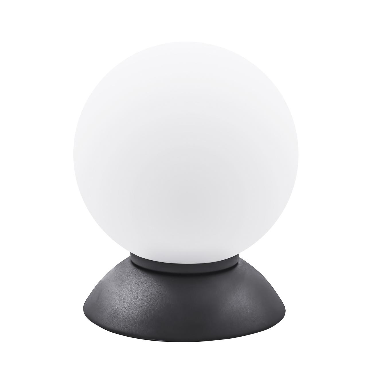 Настольная лампа Globo 1х40W E14 Black/white Lightstar 813917