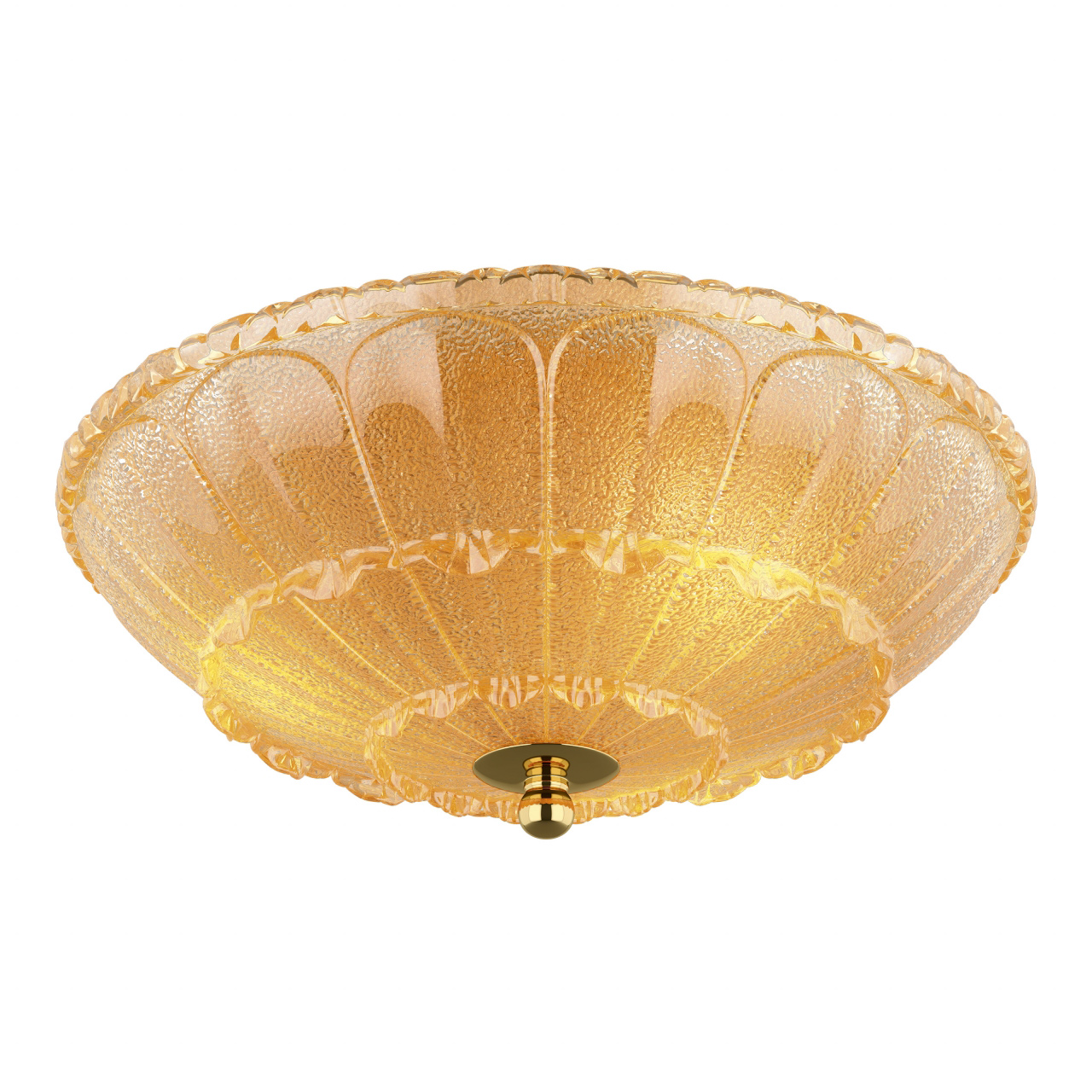Плафон потолочный Zucche 3х60W E14 золото Lightstar 820232