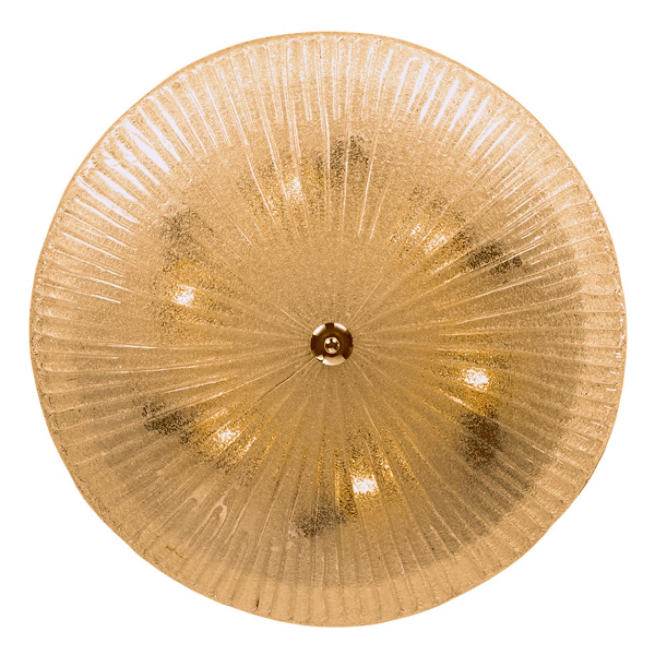 Плафон потолочный Zucche 6х60W E27 янтарь Lightstar 820863