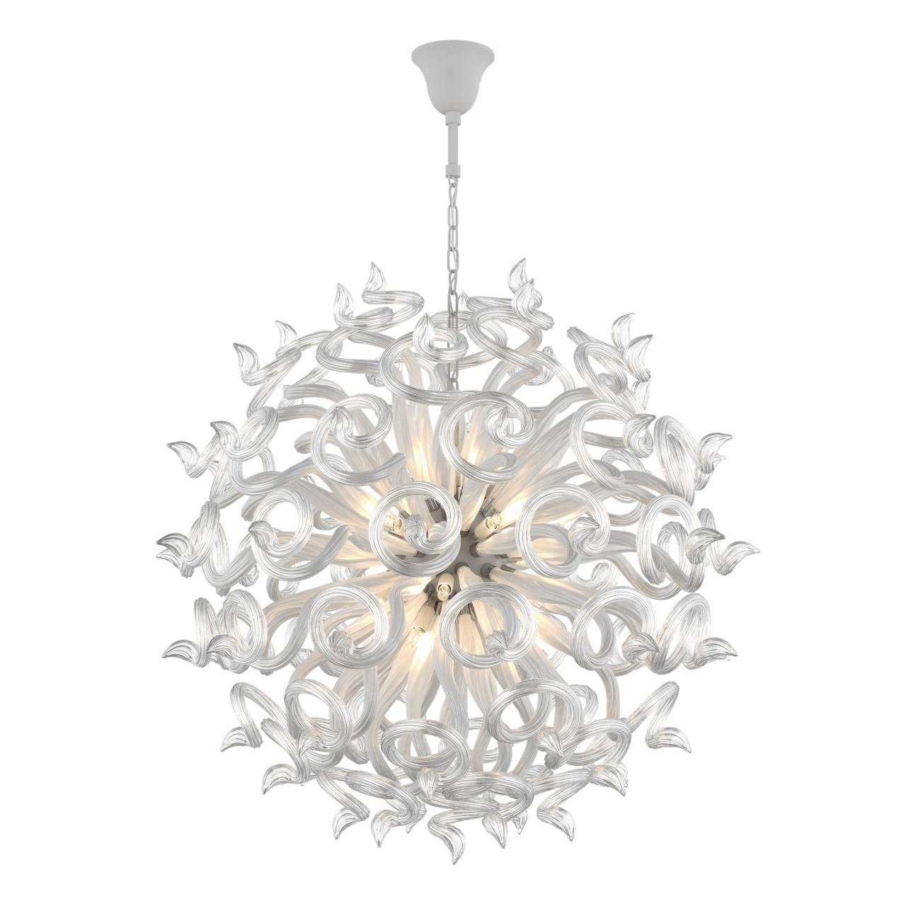 Люстра подвесная Medusa 18x40W G9 белый прозрачный Lightstar 890180