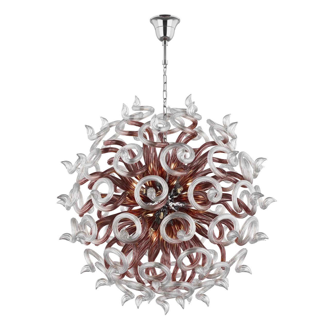 Люстра подвесная Medusa 18x40W G9 кофе Lightstar 890188