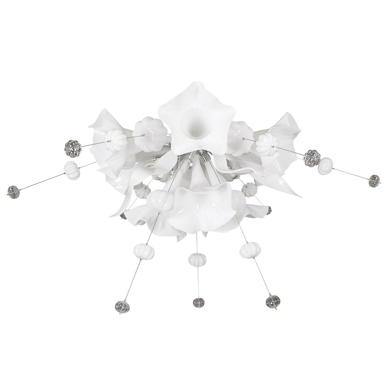Люстра потолочная Celesta 12х6W (Led) G9 чисто белый Lightstar 893026