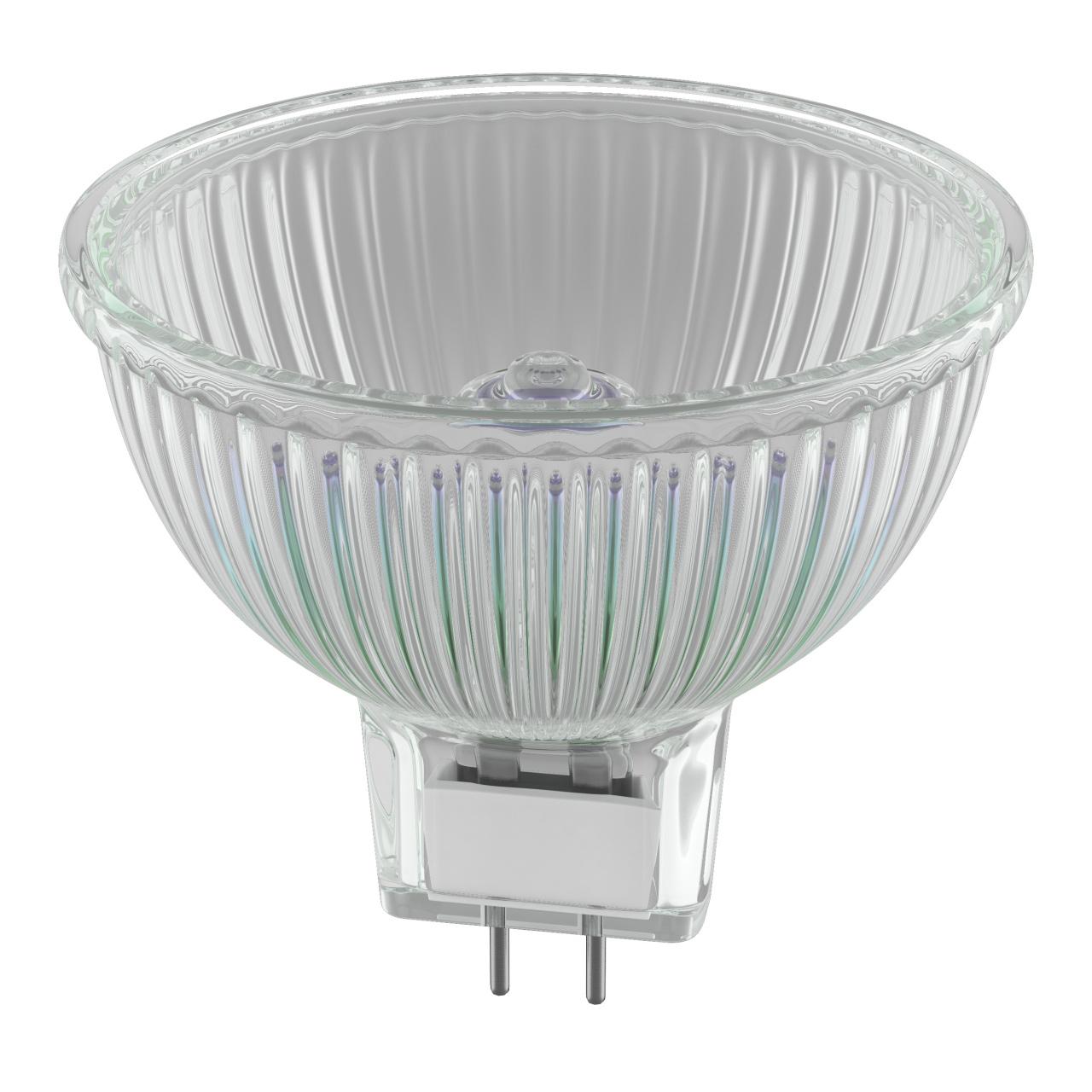 Лампа HAL 12V MR16 G5.3 50W 60G FR RA100 2800K 2000H DIMM Lightstar 921217