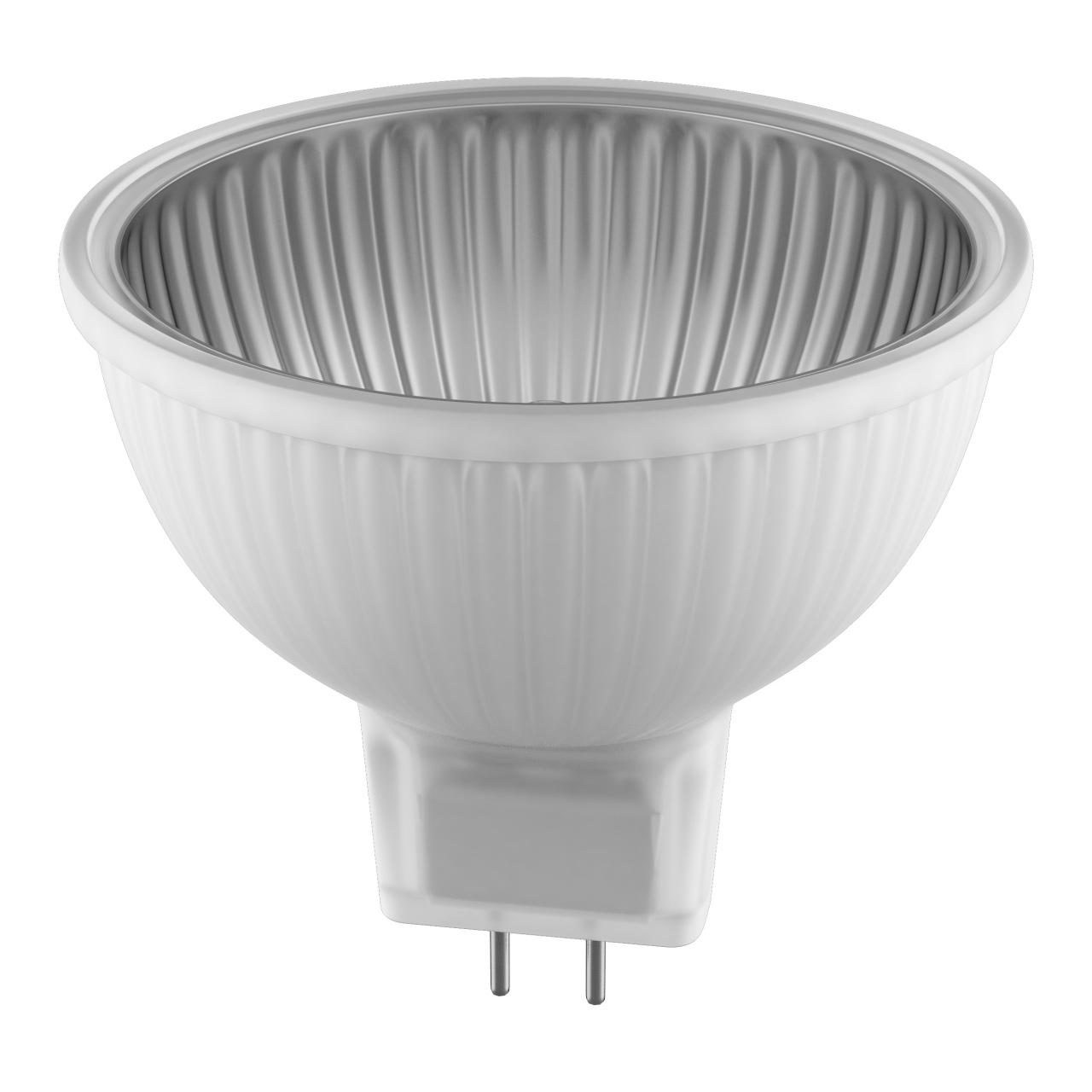 Лампа HAL 220V MR16 G5.3 50W 60G ALU RA100 2800K 2000H DIMM Lightstar 922107