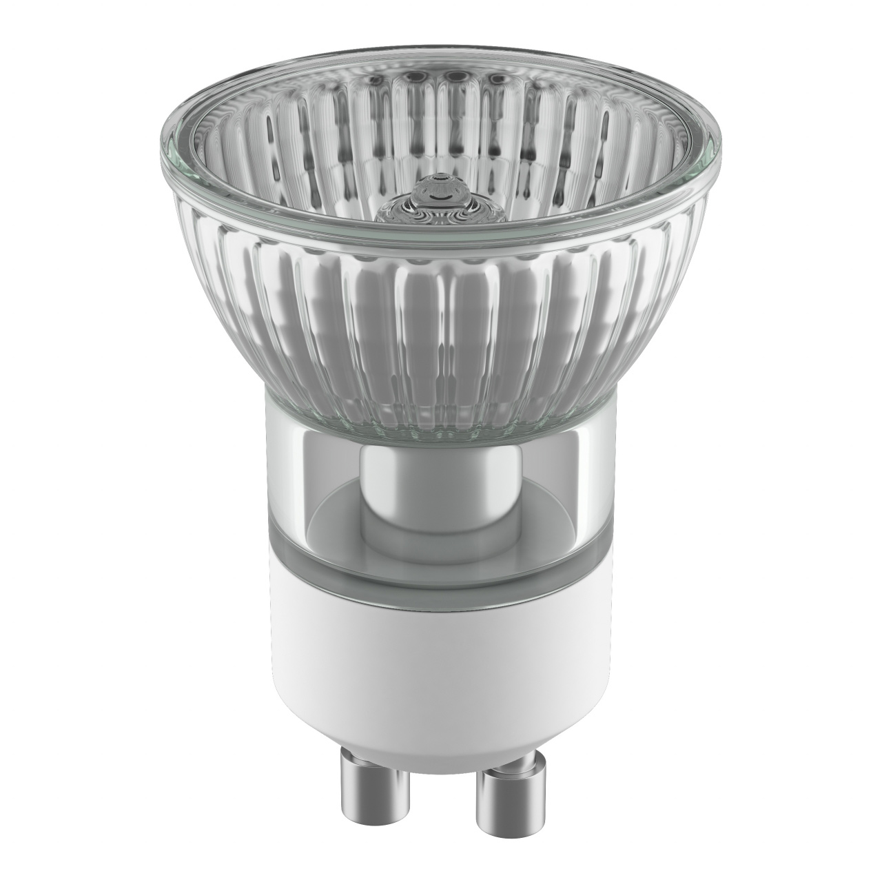 Лампа HAL 220V HP11 GU10 35W 30G ALU RA100 2800K 2000H DIMM Lightstar 922703