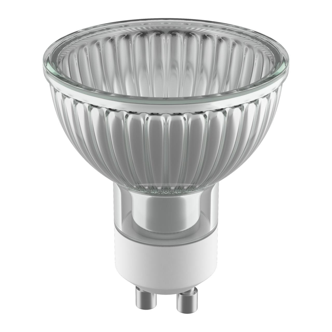 Лампа HAL 220V HP16 GU10 35W 40G ALU RA100 2800K 2000H DIMM Lightstar 922705