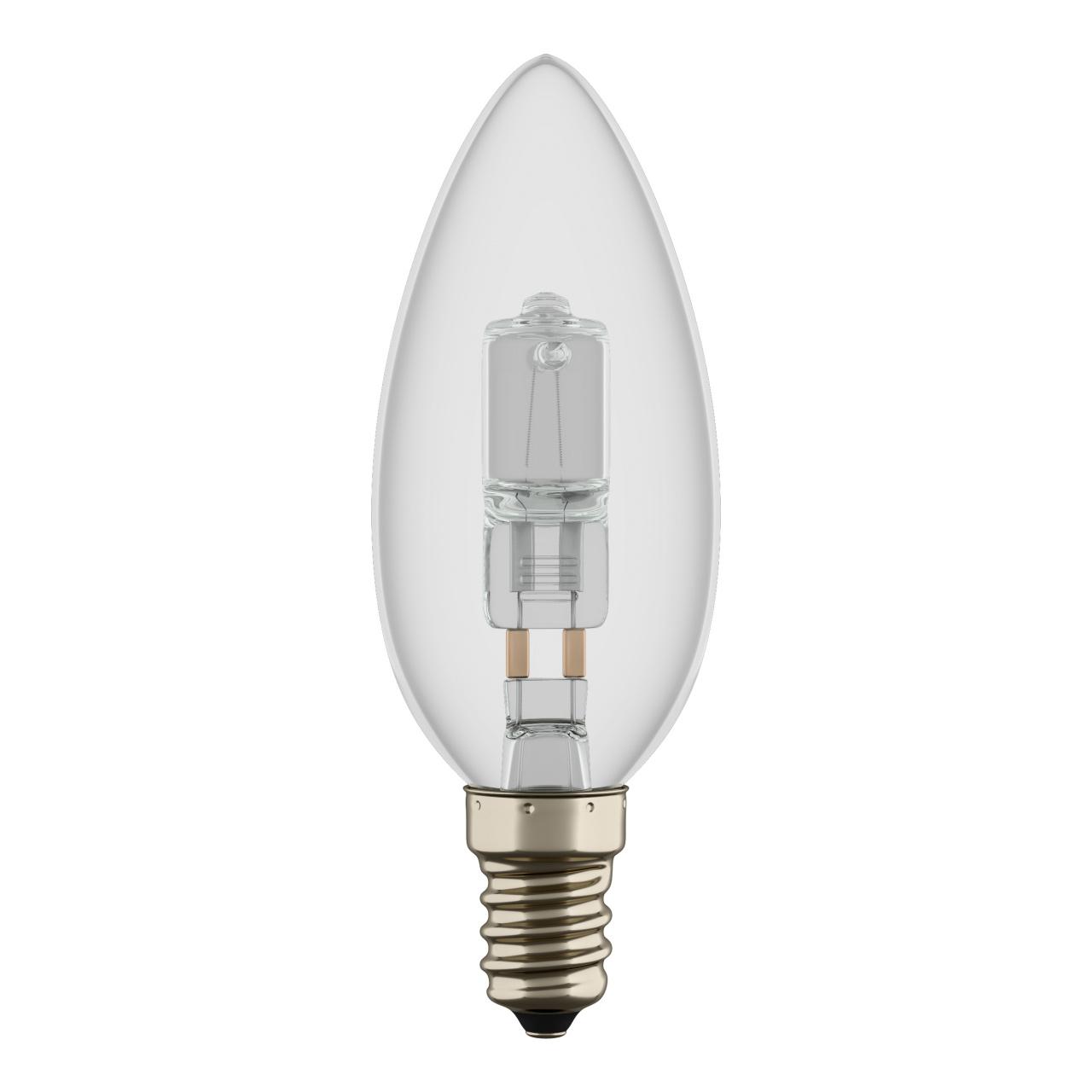 Лампа HAL 220V C35 E14 28W=40W ES RA100 2800K 2000H DIMM Lightstar 922940
