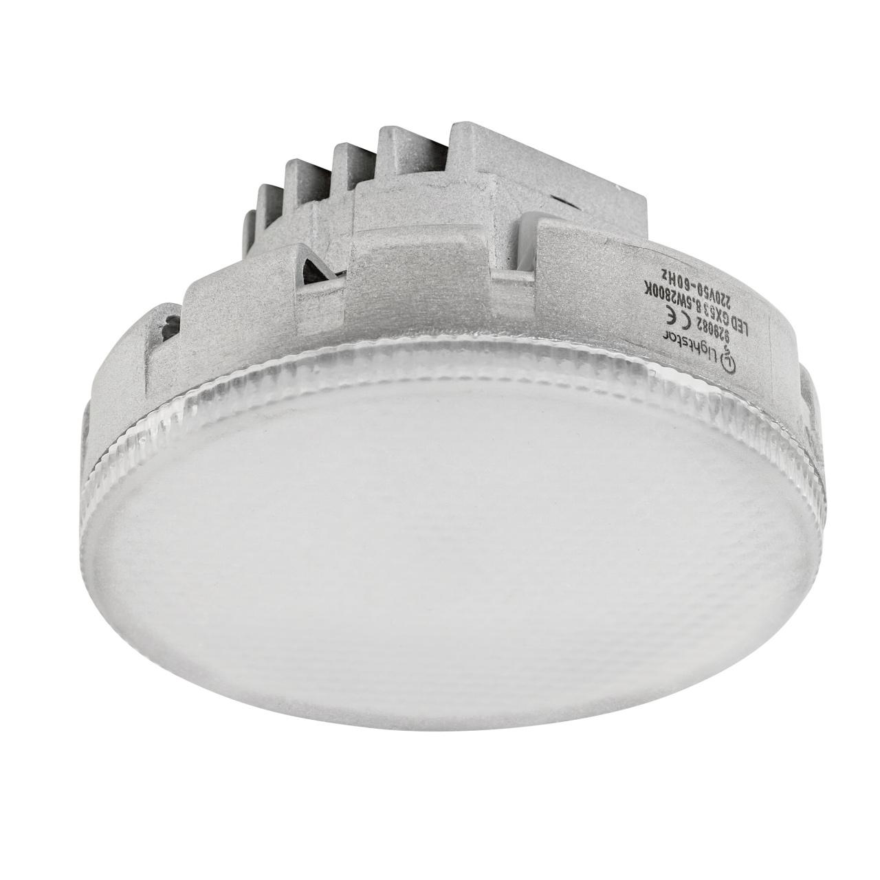 Лампа LED 220V TABL GX53 8.5W=80W 680LM 180G FR 2800K 20000H Lightstar 929082