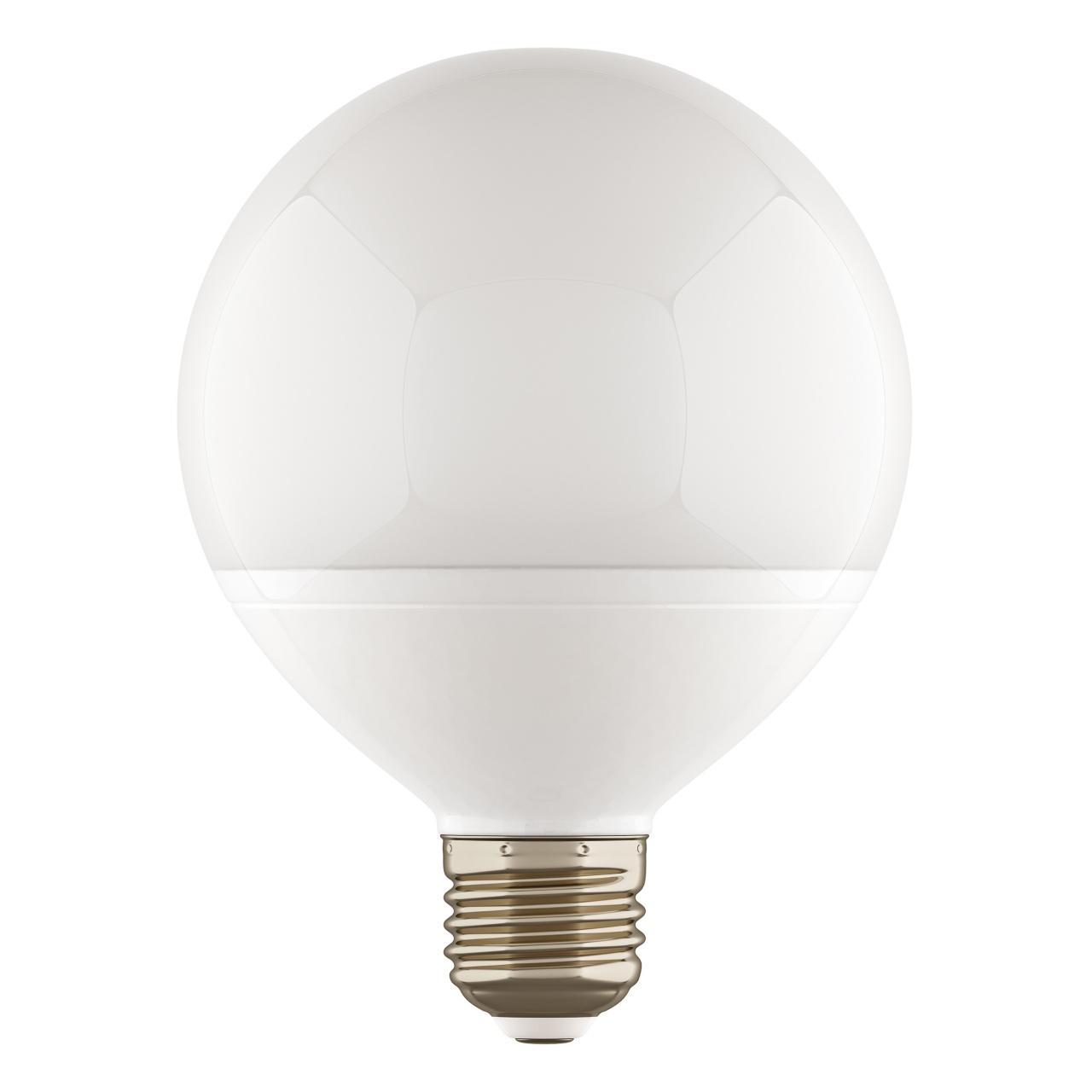 Лампа LED 220V G95 E27 13W=130W 1100LM 180G FR 3000K 20000H Lightstar 930312