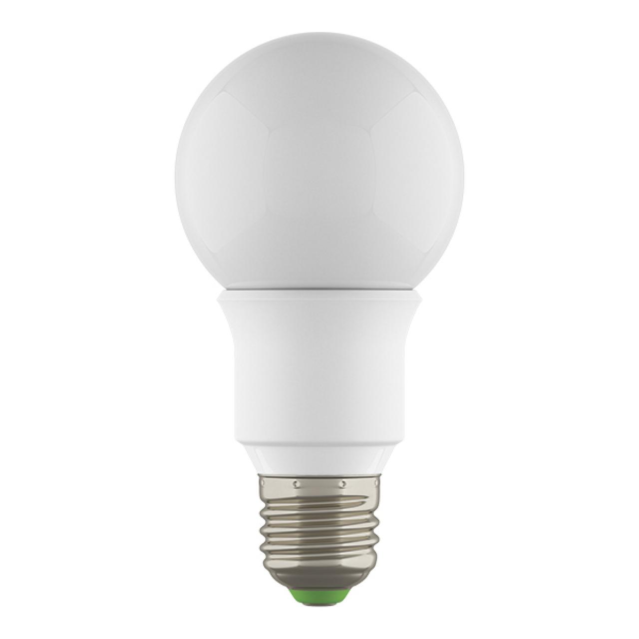 Лампа LED 220V A60 E27 6W=60W 500LM 360G WH 3000K 20000H DIMM Lightstar 931002