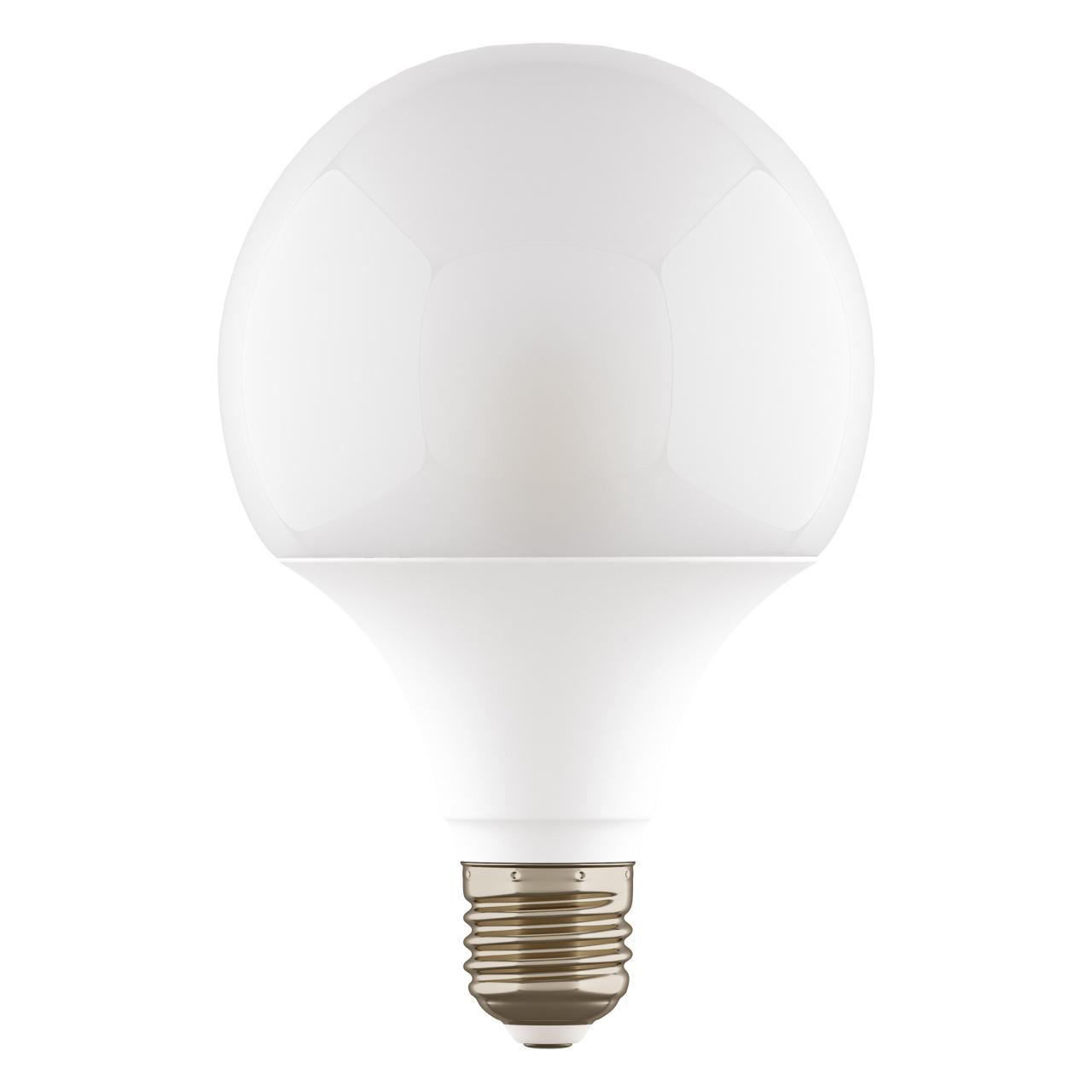 Лампа LED 220V G95 E27 12W=120W 1100LM 180G WH 4000K 20000H DIMM Lightstar 931304