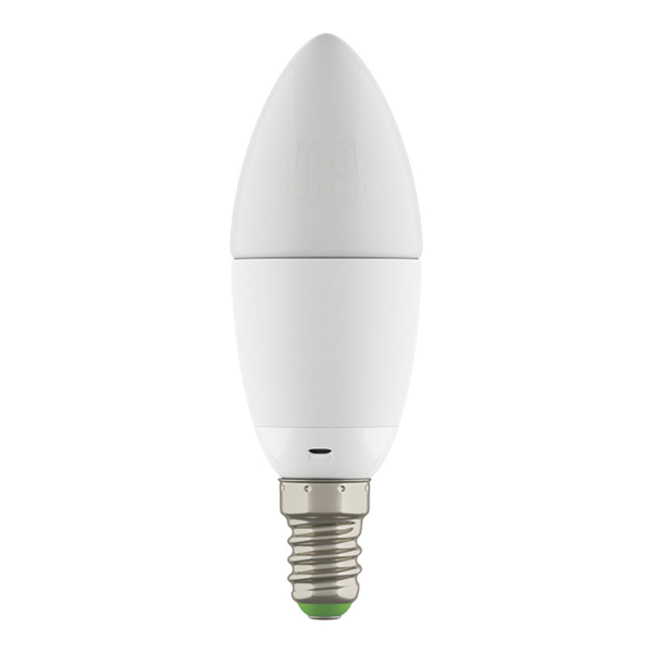 Лампа LED 220V C35 E14 6W=60W 360G WH 2800-3000K 20000H DIMM Lightstar 931502