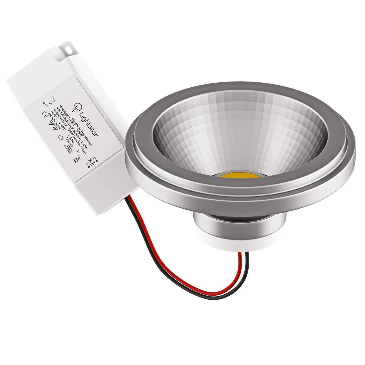 Светодиодная LED лампа AR111/DR111, 220V, 12W - 4000K. Lightstar 932104