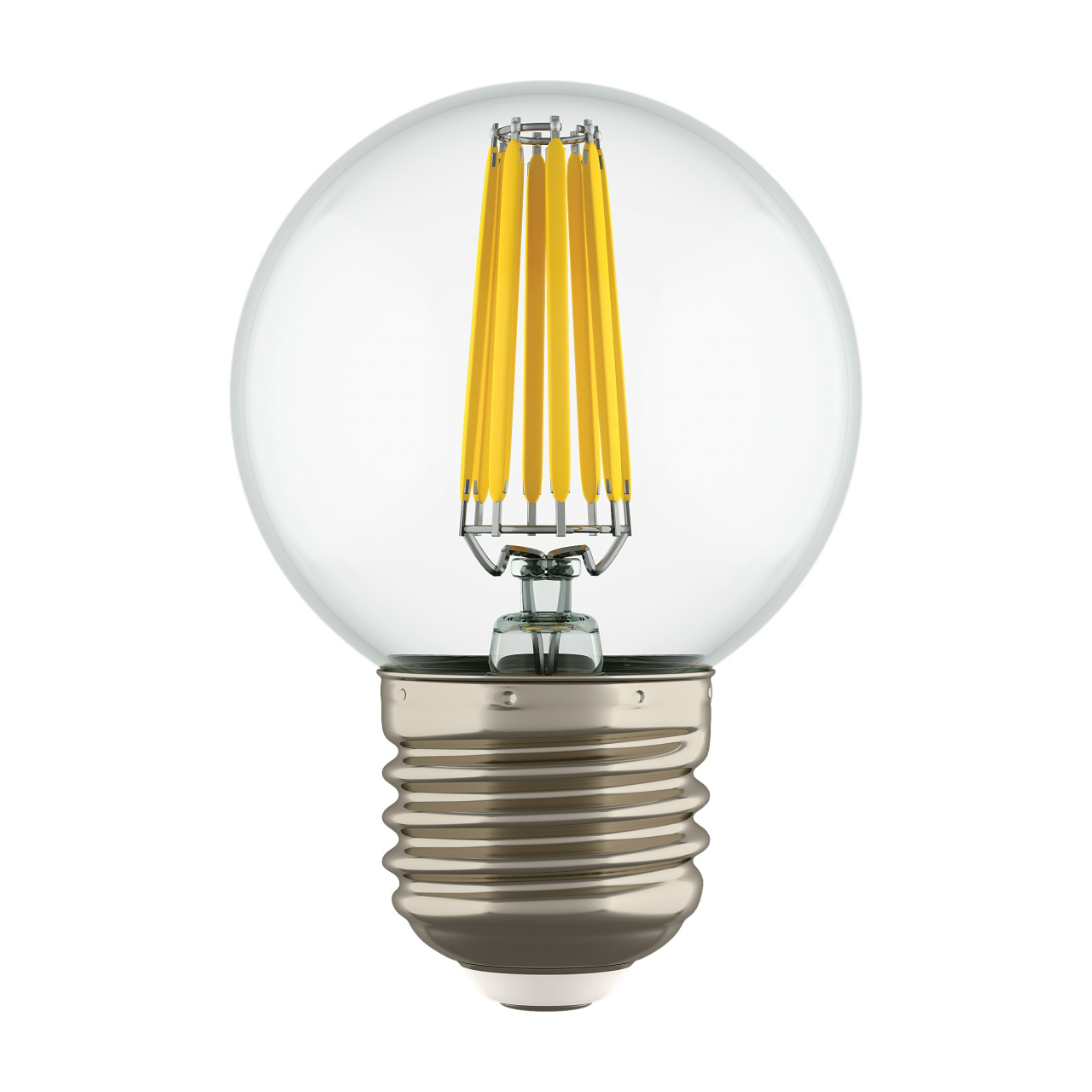 Лампа LED Filament 220V G50 E27 6W=65W 400-430LM 360G CL 4000K 30000H Lightstar 933824
