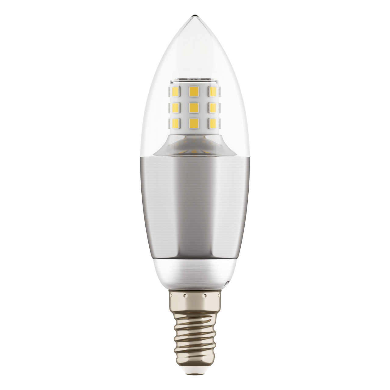 Лампа LED 220V C35 E14 7W=70W 460LM 60G CL/CH 4000K 20000H Lightstar 940544