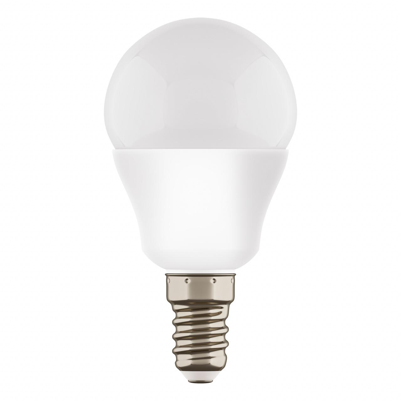 Лампа LED 220V G45 E14 7W=65W 350LM 180G FR 3000K 20000H Lightstar 940802