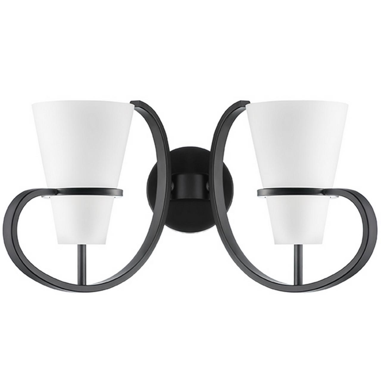 Бра FIACOLLA LightStar 733627 цвет - черный/белый