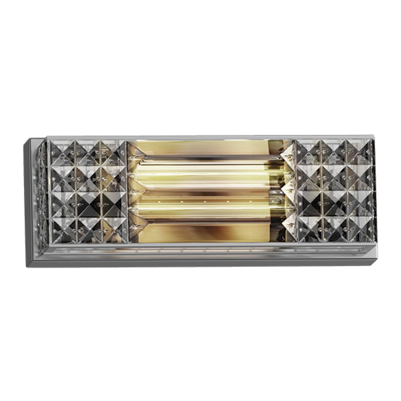 Бра Limpio 6х20W G4 хром / прозрачный Osgona 722640